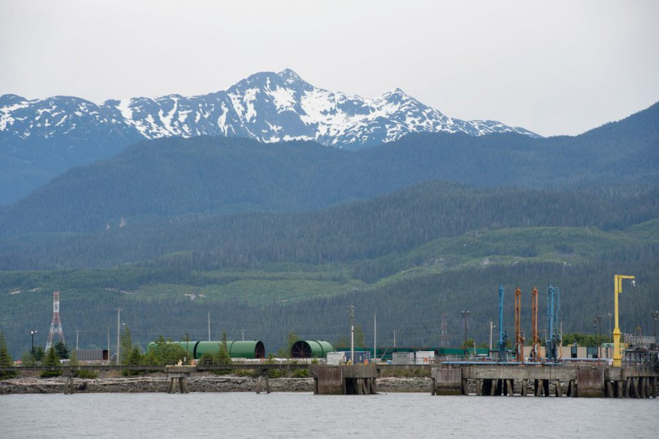 Le site du projet de construction d'un oléoduc... (PHOTO Jonathan Hayward, archives PC)