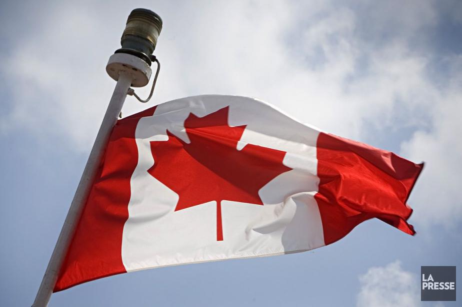 Les Canadiens célébraient le 149e... (Photo Ivanoh Demers, archives La Presse)