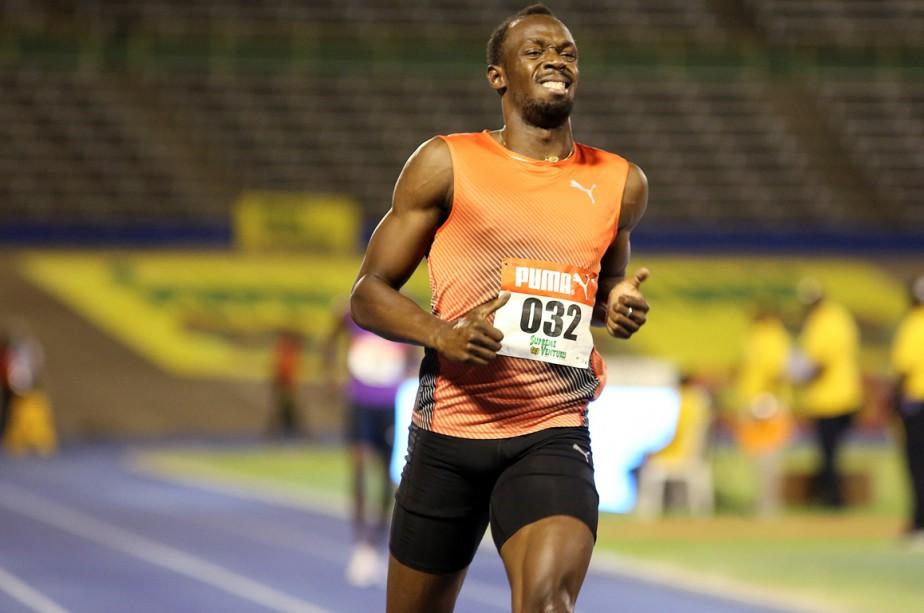 Usain Bolt se blesse pendant des essais olympiques