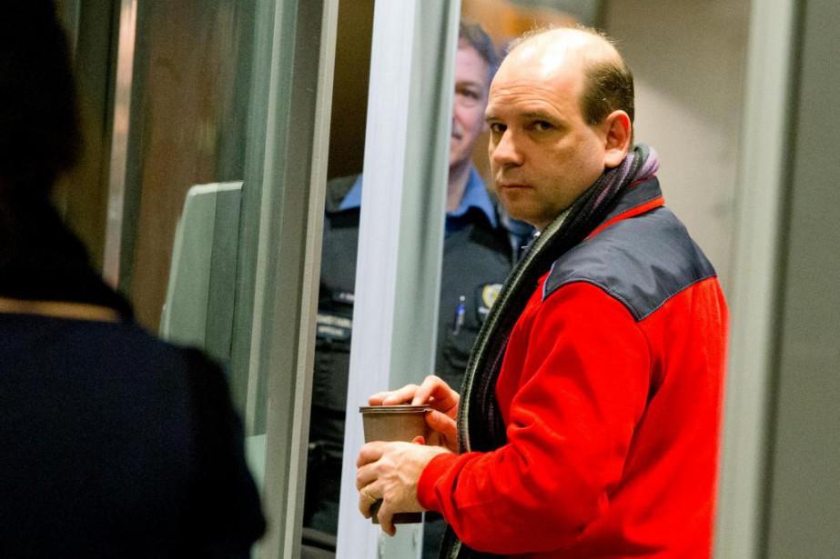 Louis-Pierre Lafortune, l'un des cinq accusés du procès... (Photo Alain Roberge, Archives La Presse)