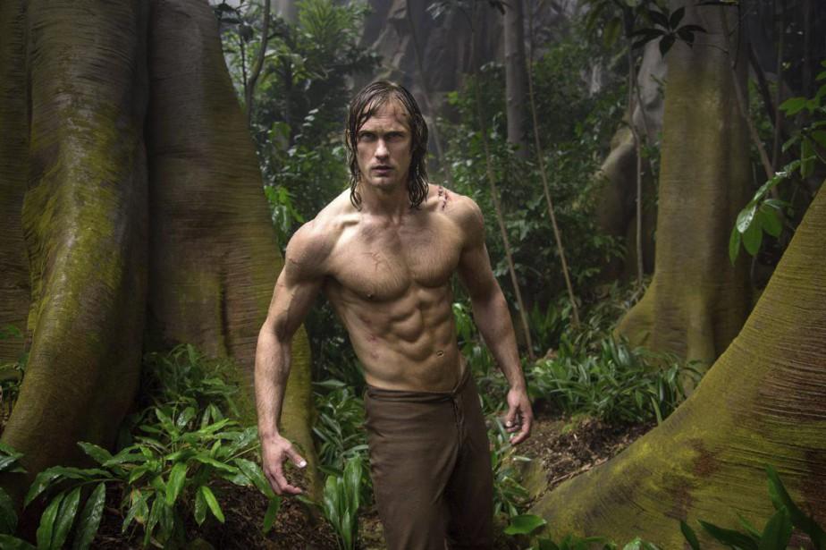 Alexander Skarsgård dansThe Legend of Tarzan.... (PHOTO FOURNIE PAR WARNER BROS)