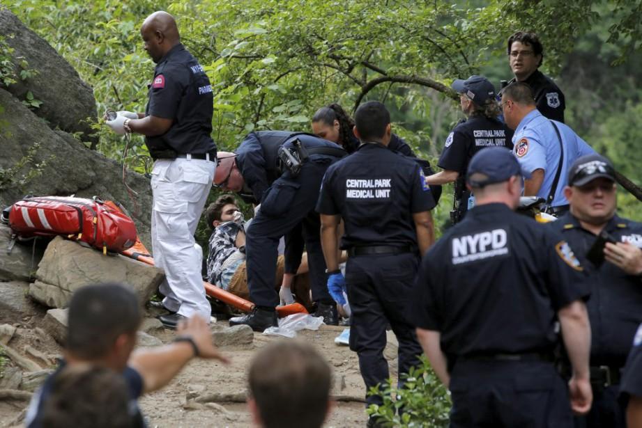 La cause de l'explosion n'a pas encore été... (PHOTO ANDREW KELLY, REUTERS)