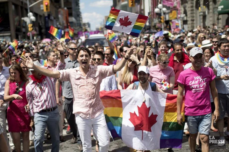 Justin Trudeau, qui avait déjà pris part au... (PHOTO Mark Blinch, PC)