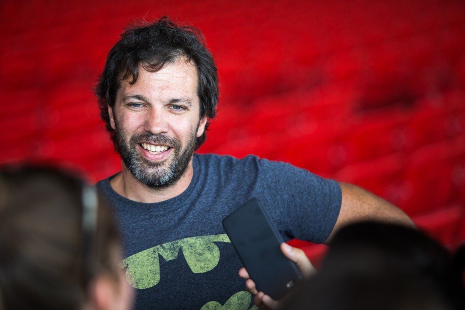Jean-Guy Legault, metteur en scéne du spectacle<span><span><span><i>Tout écartillé.</i></span></span></span><span><span><span></span></span></span> (Olivier Croteau)