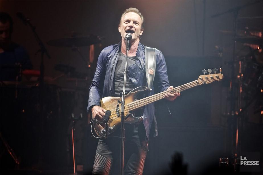 Sting... (PHOTO ANDRÉ PICHETTE, LA PRESSE)