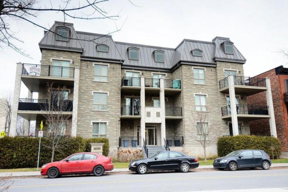 Cet appartement situé à Lachine a été vendu... (Photo fournie par la courtière)