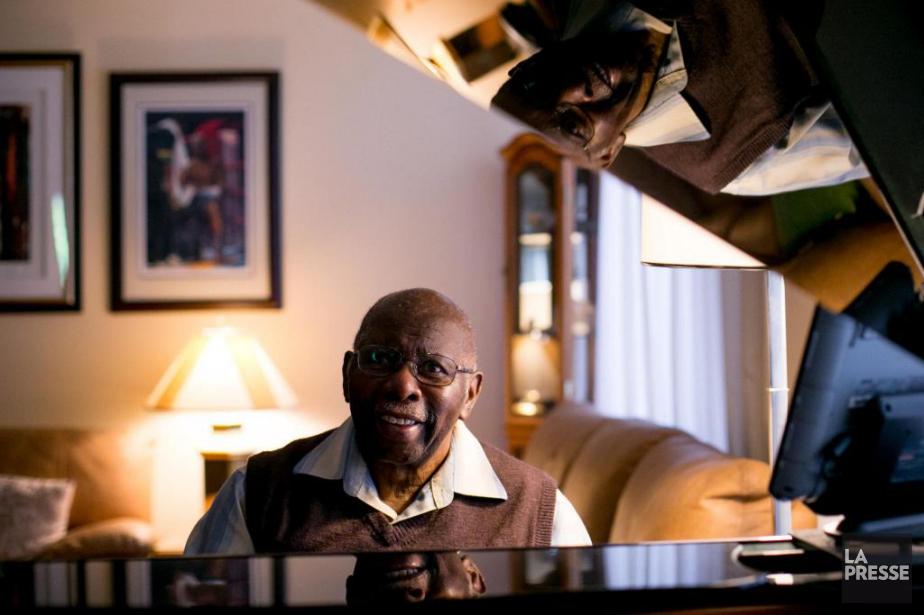 Le pianiste Oliver Jones jouera pour une dernière... (Photo Martin Tremblay, La Presse)