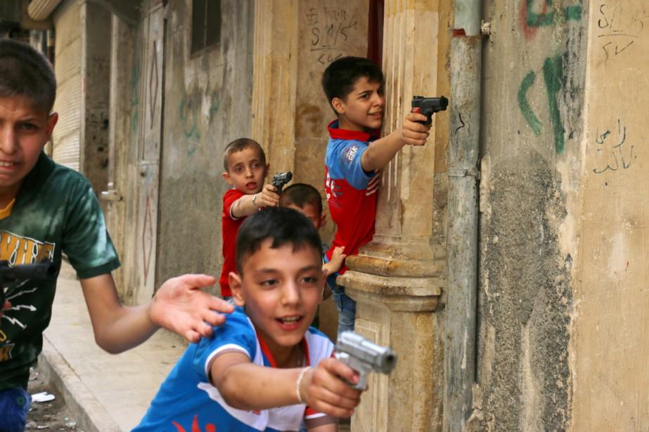 Alors que le régime de Bachar al-Assad a... (PHOTO AMEER ALHALBI, AFP)