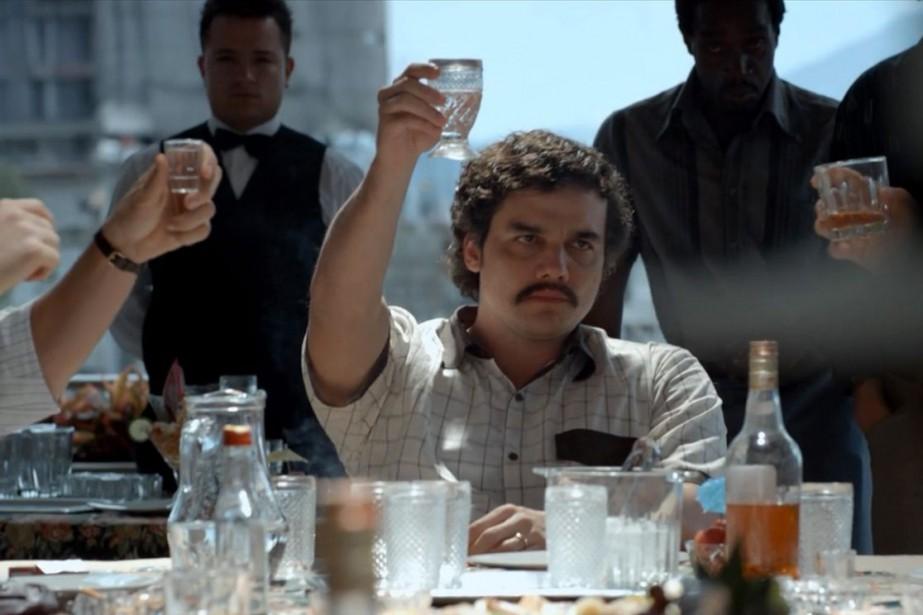 La série Narcosmet en vedette le Brésilien Wagner... (Photo fournie par Netflix)