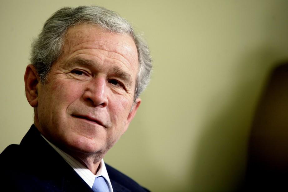 L'ancien président américain George W. Bush... (PHOTO ARCHIVES NEW YORK TIMES)