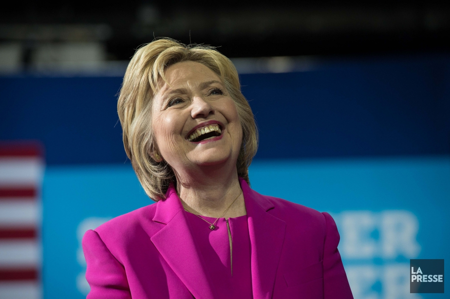 La candidate démocrate à la Maison-Blanche, Hillary Clinton... (Archives AFP, Nicholas Kamm)