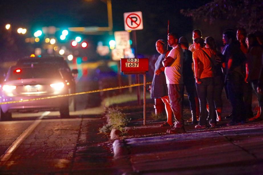 L'homme a été tué dans une automobile alors... (Photo Leila Navidi/Star Tribune via AP)