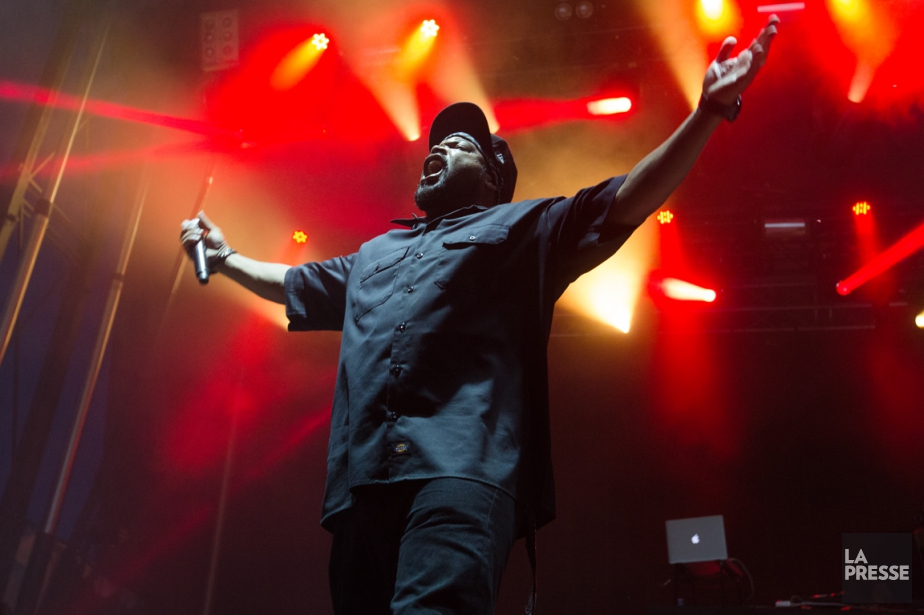 Ice Cube... (Photo Ninon Pednault, archives La Presse)