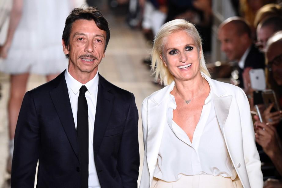 L'unique directeur artistique de Valentino est désormais Pierpaolo... (PHOTO BERTRAND GUAY, AFP)