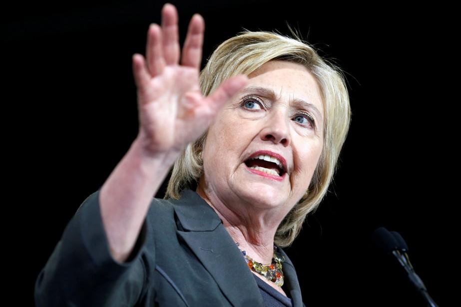La candidate démocrate à la présidentielle américaine, Hillary... (Photo Jason Miczek, Reuters)
