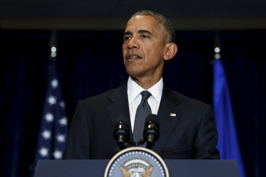 Barack Obama se trouveà Varsovie pourun sommet de... (PHOTO JONATHAN ERNST, REUTERS)