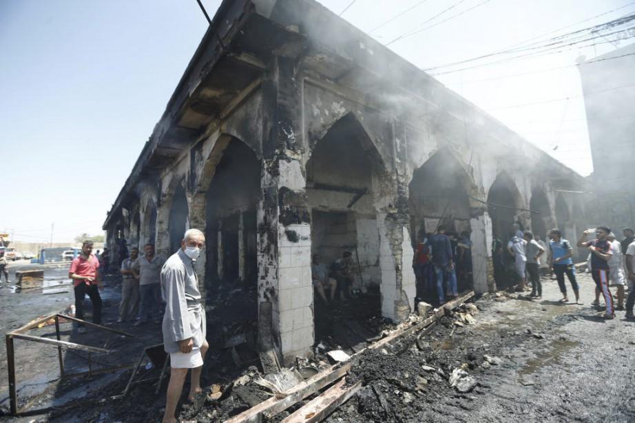 Une nouvelle attaque a fait 30morts dans un... (PHOTO THAIER AL-SUDANI, REUTERS)