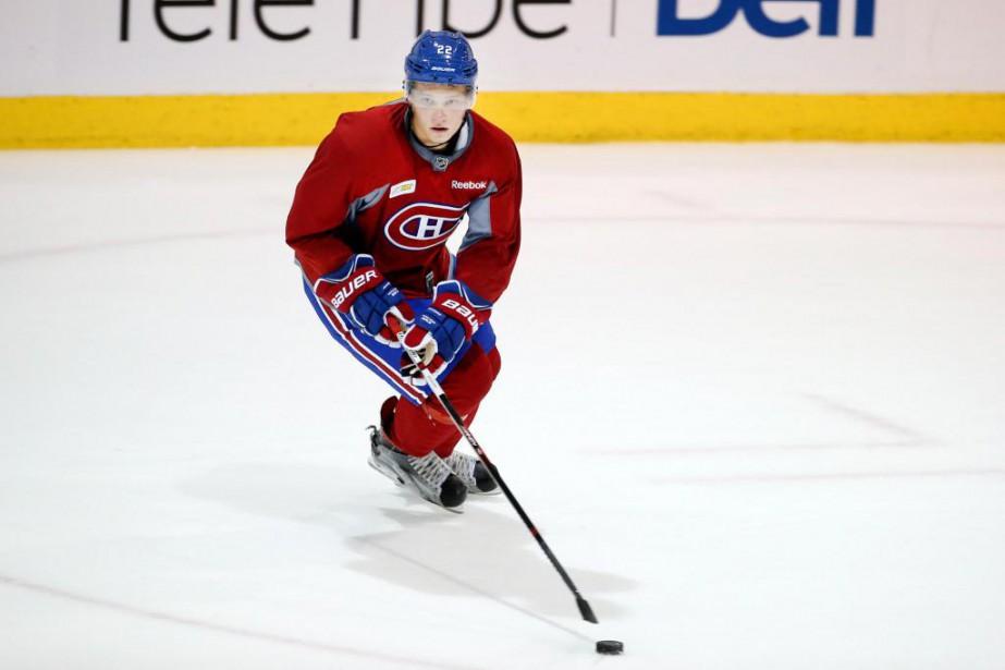 Le défenseur Mikhail Sergachev,premier choix du Canadien au... (PHOTO ROBERT SKINNER, LA PRESSE)