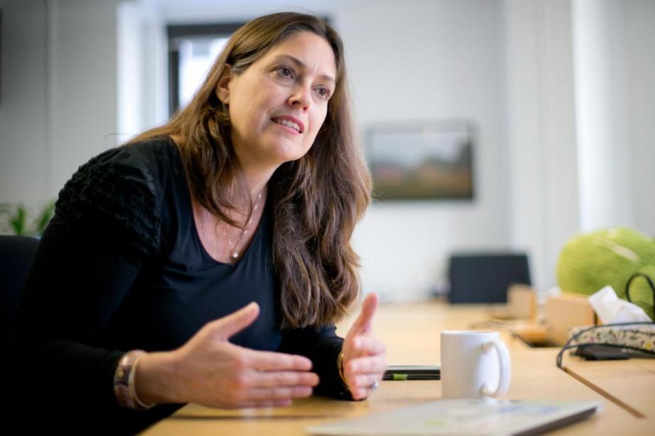 Marie-Josée Lamothe, directrice générale de Google Québec, croit... (Photo David Boily, La Presse)