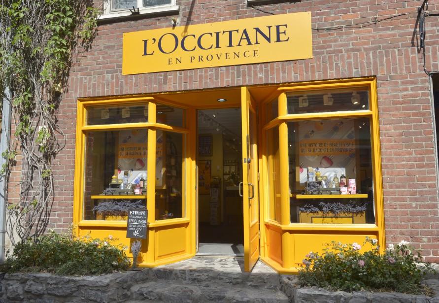La boutique L'Occitane en Provence est située sur la rue du Petit-Champlain. (Le Soleil, Jean-Marie Villeneuve)