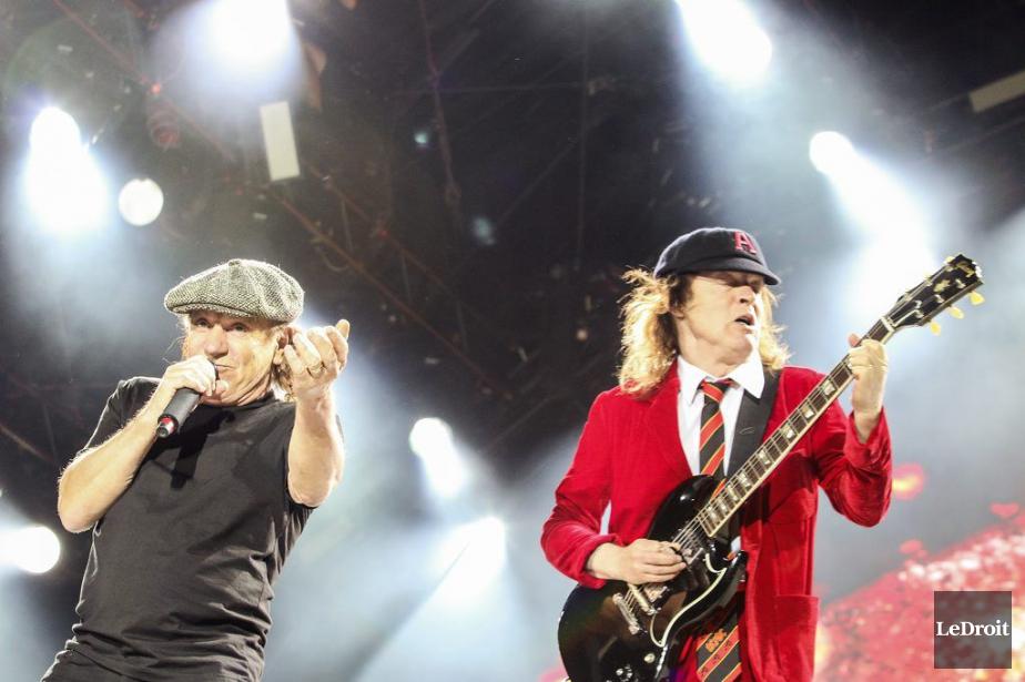 AC/DCbouclera fin septembre aux États-Unis une tournée mondiale... (Photo Patrick Woodbury, Archives LeDroit)