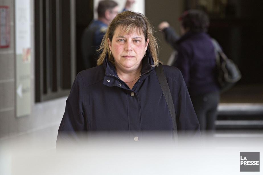 France Michaud avait été condamnée, mercredi au palais... (Photo Patrick Sanfaçon, archives La Presse)