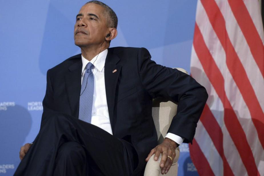Le président des États-Unis Barack Obama... (Photo d'archives)