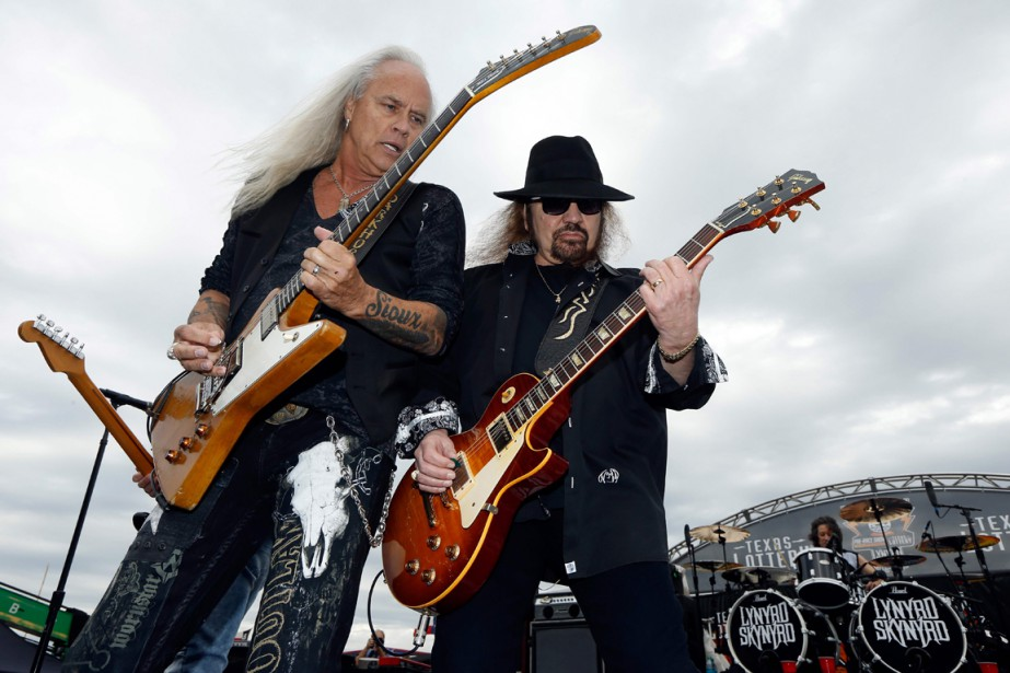 Lynyrd Skynyrd (photo), connu pour son titre Sweet Home... (Photo AFP)