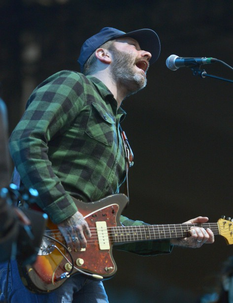 Dallas Green, de City and Colour (Photo Le Soleil, Jean-Marie Villeneuve)