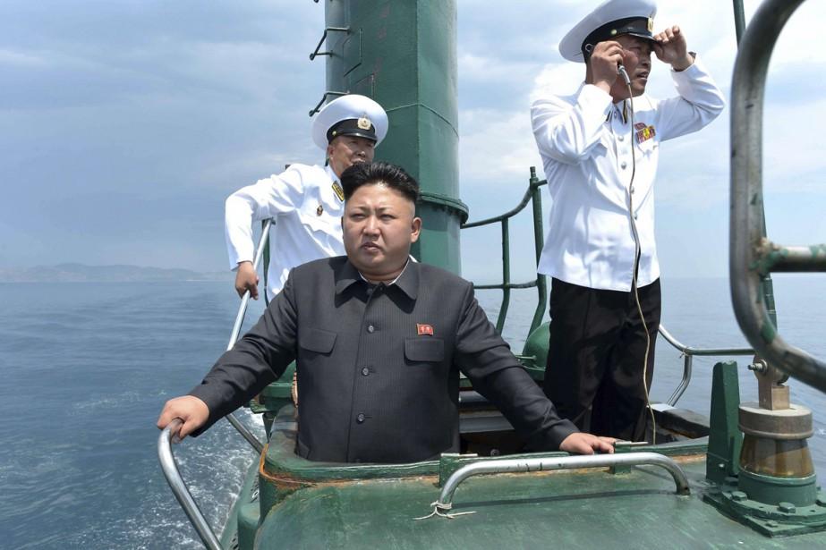 La Corée du Nord a effectué samedi un tir d'essai... (Photo archives Reuters)