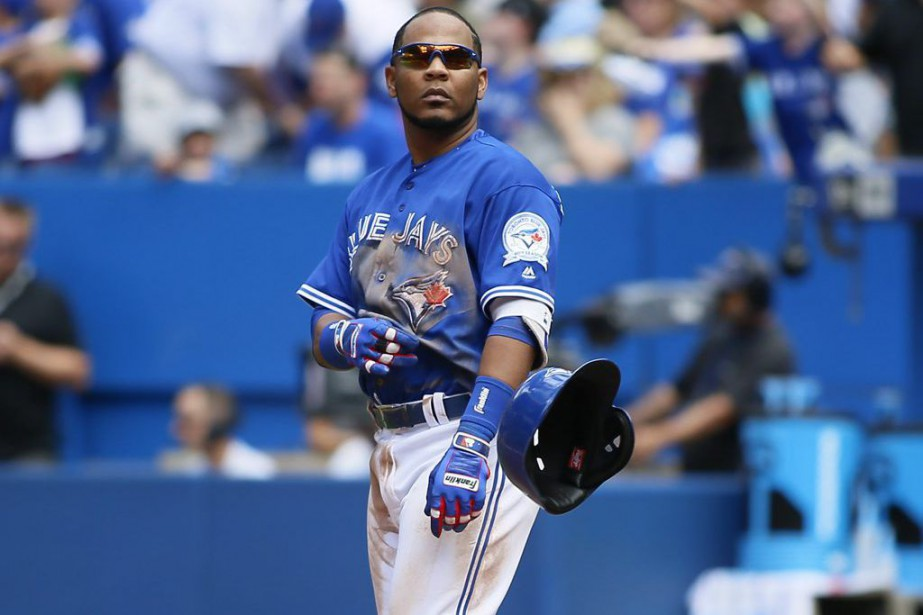 Edwin Encarnacion... (PHOTO John E. Sokolowski, USA TODAY Sports)