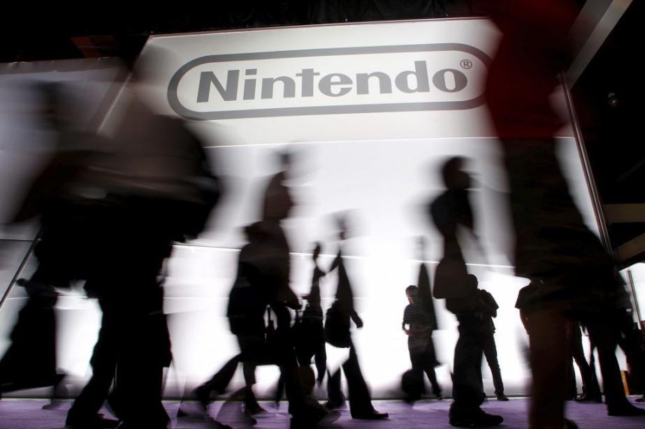 L'action du pionnier japonais des jeux vidéo Nintendo prenait... (Photo Reuters)