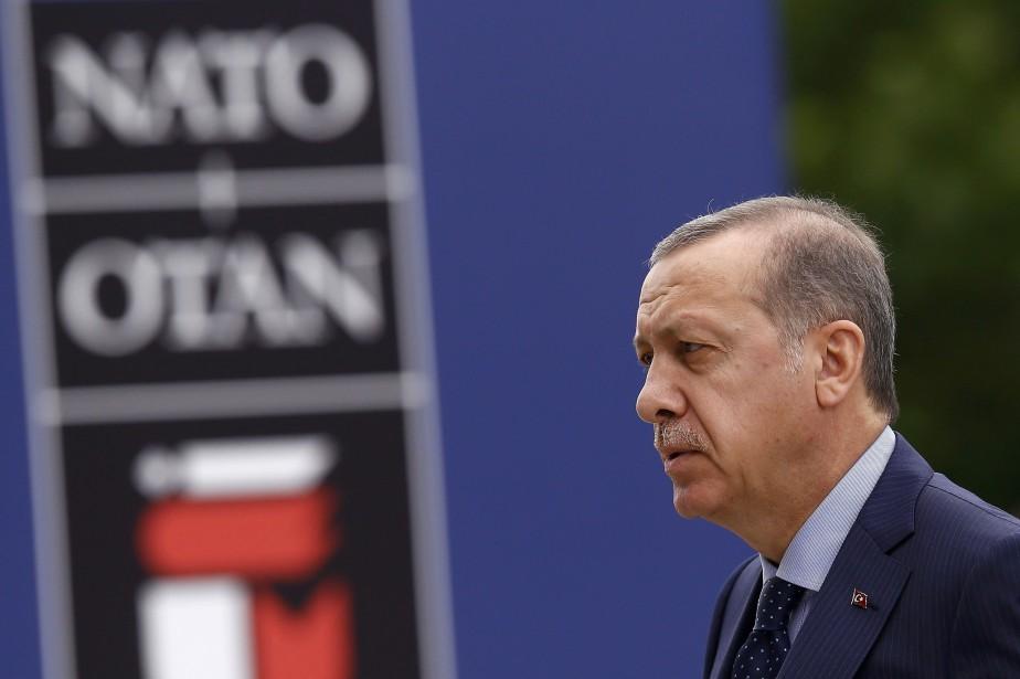L'homme fort de Turquie Tayyip Erdogana annoncé le... (Photo Kacper Pempel, Reuters)