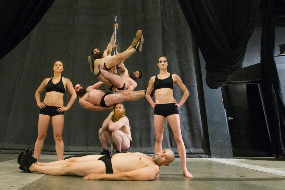 La troupe duCirque Alfonse, originaire deSaint-Alphonse-Rodriguez, est en... (Photo IVANOH DEMERS, archives LA PRESSE)