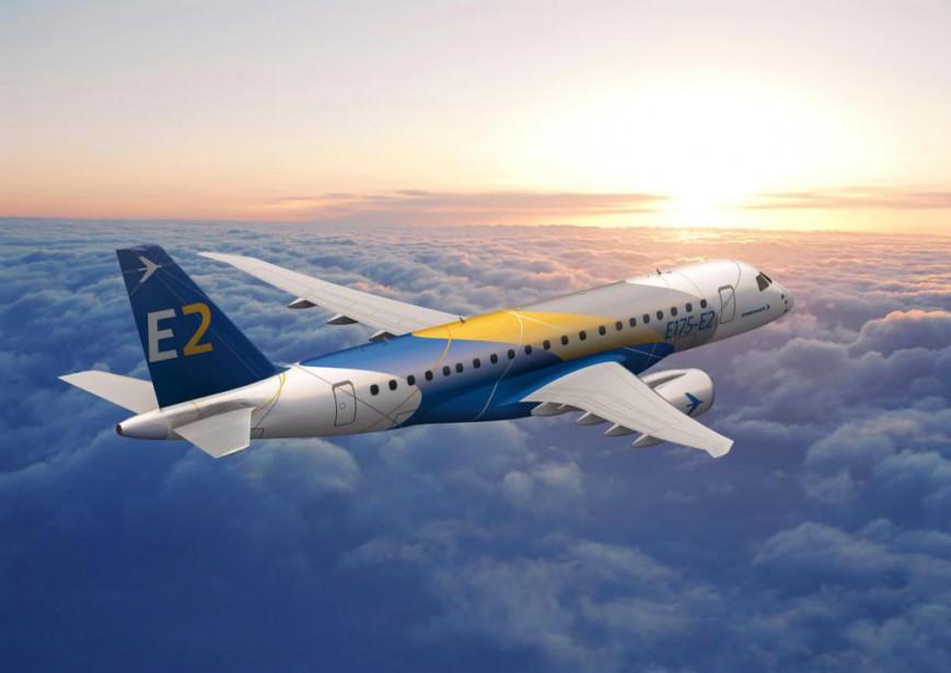 Le plus grand rival de Bombardier, le brésilien... (Photo fournie par Embraer)