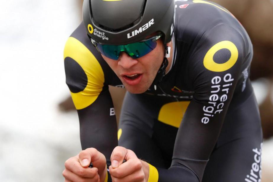 À sa première expérience au Tour de France,... (PhotoKenzo Tribouillard, Agence France-Presse)