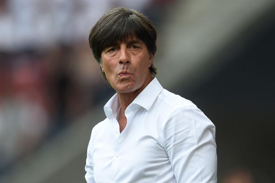 Le sélectionneur de l'Allemagne, Joachim Löw.... (Photo Christof Stache, AFP)