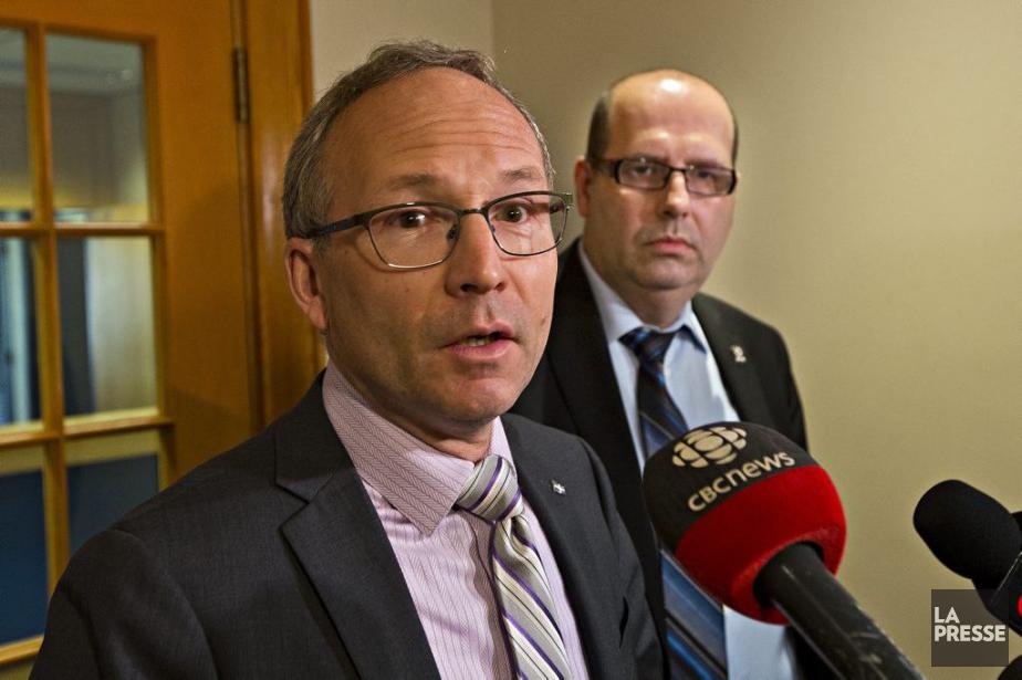 Le ministre de la Sécurite publique, Martin Coiteux,... (PHOTO PATRICK SANFAÇON, LA PRESSE)