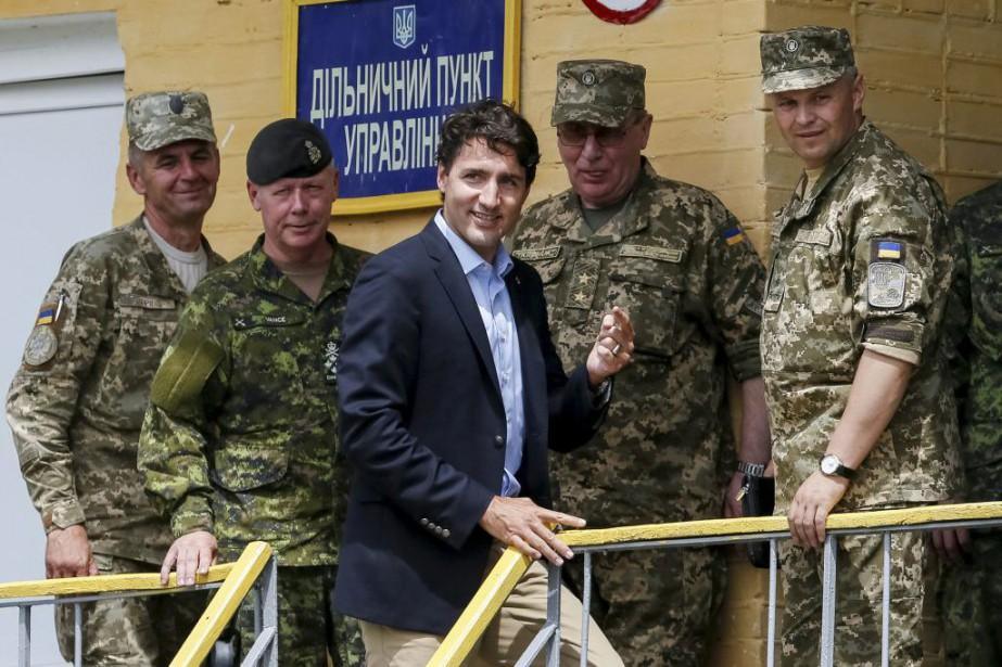 Justin Trudeau... (PHOTO GLEB GARANICH, REUTERS)