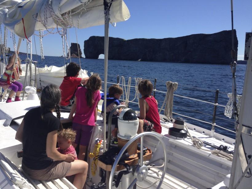 L'école se fera à bord, en collaboration avec la Commission scolaire... des Navigateurs! (Fournie par Brumeetpinocchio.com)