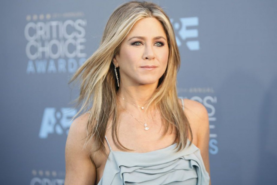 Jennifer Aniston lors des Critics' Choice Awards en... (PHOTO ARCHIVES REUTERS)