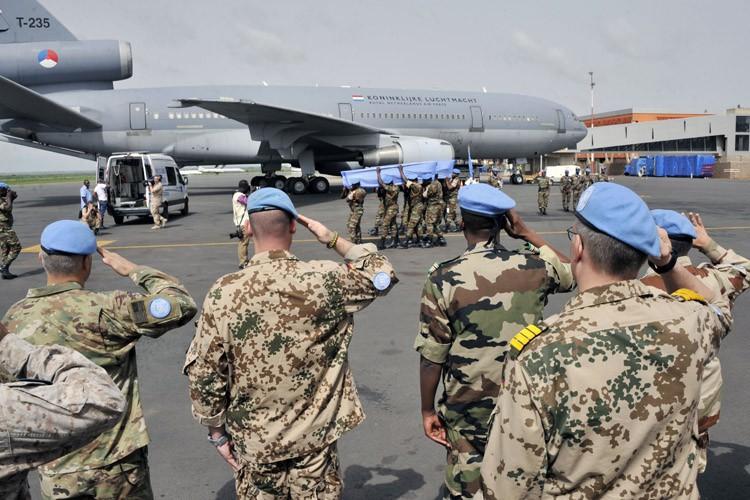 Le mois dernier, le représentant spécial des Nations... (PHOTO AFP)