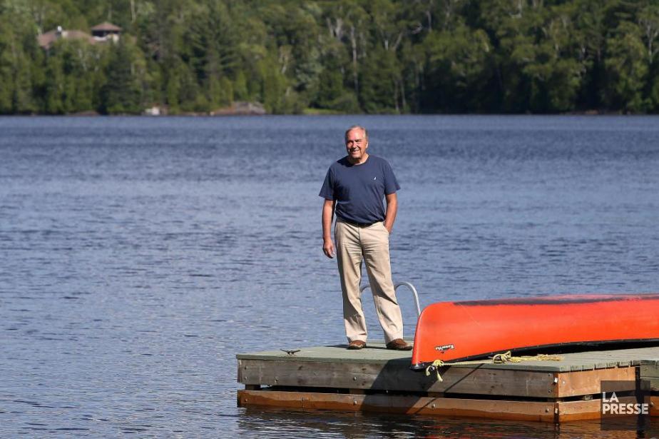 Aujourd'hui maire de Val-Morin, l'ingénieur spécialisé en environnement... (PHOTO ROBERT SKINNER, LA PRESSE)