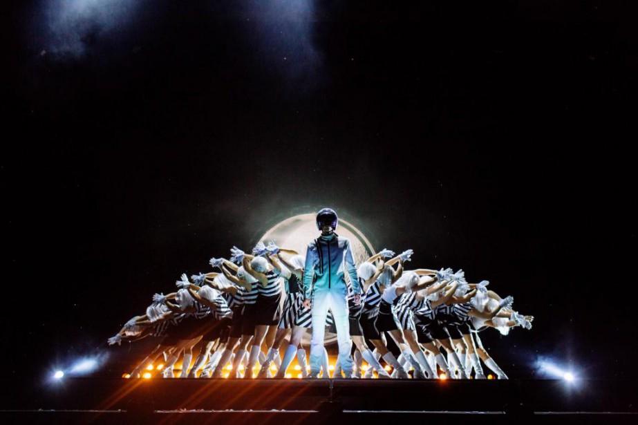 Le spectacle Tout écartillé du Cirque du Soleil... (PhotoMarie-Andrée Lemire, fournie par le Cirque du Soleil)