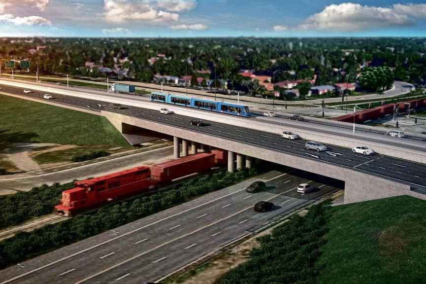 La mise en service du nouveau train électrique... (image fournie par la Caisse de dépôt et placement du Québec)