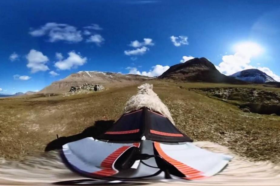 Visiter virtuellement les îles Féroé, c'est... (Image tirée de la vidéo)