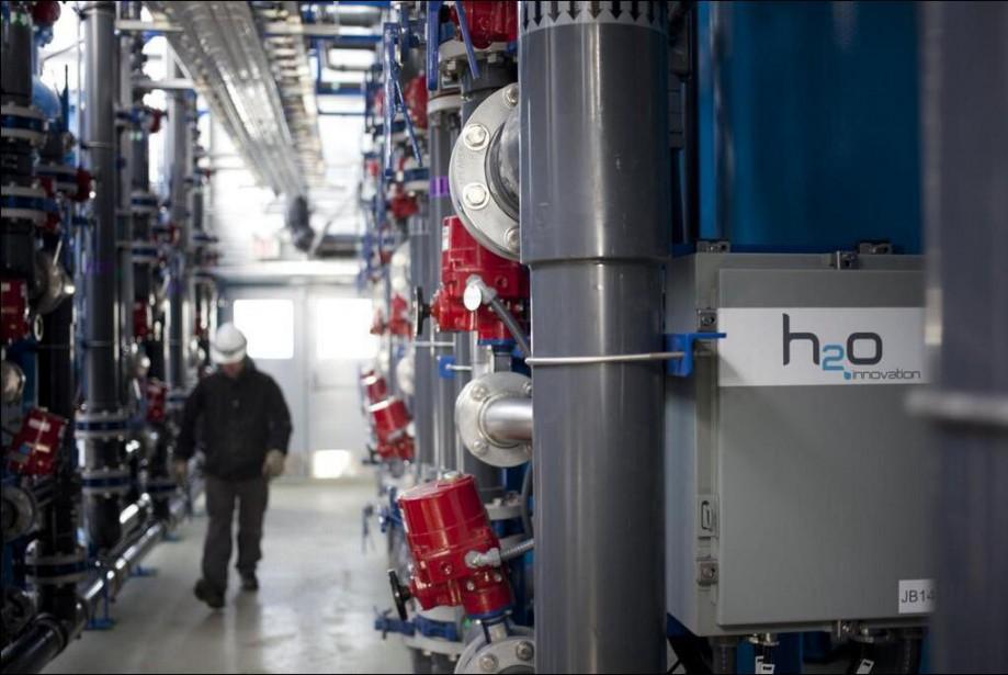 L'entreprise de QuébecH2O Innovation vient de faire l'acquisition... (Photo tirée de Twitter)