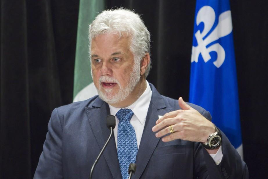 Le premier ministre du Québec, Philippe Couillard.... (Archives La Presse Canadienne)