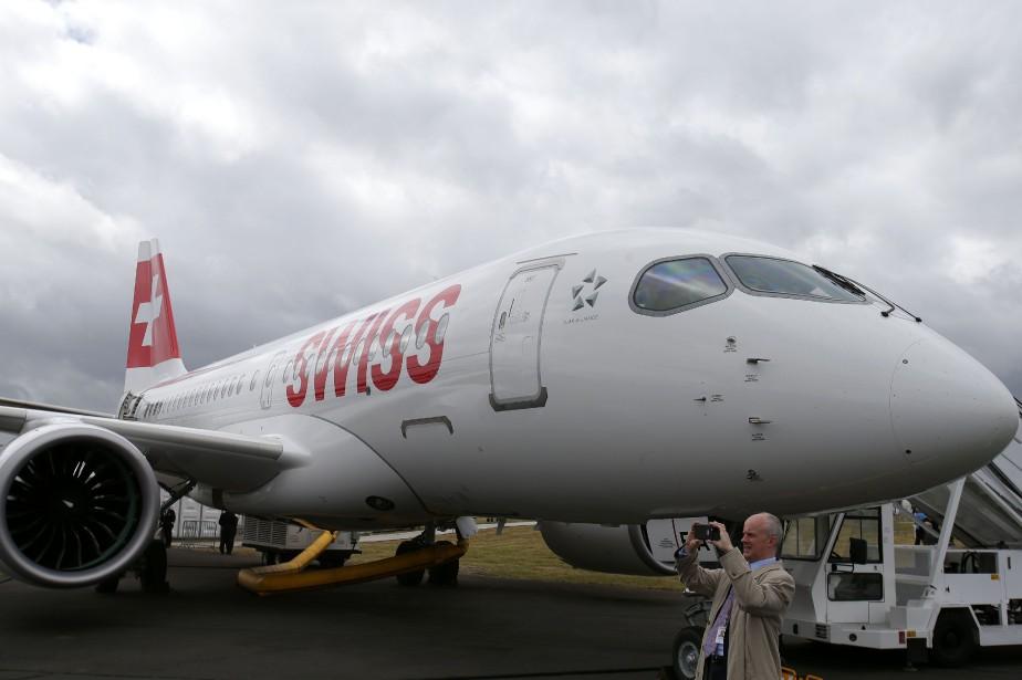 Bombardier n'a pas réussi à vendre d'avions de... (Photo Daniel Leal-Olivas, AFP)