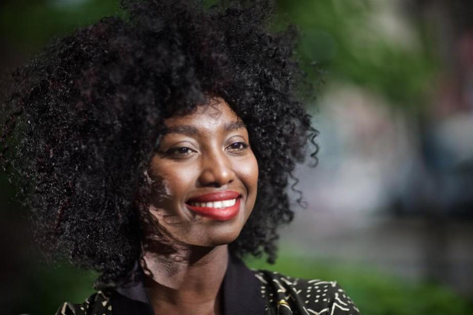 Inna Modja est en concert auThéâtre Fairmount ce... (Photo André Pichette,La Presse)